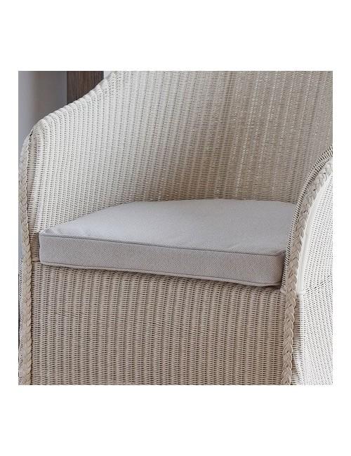 Coussin seul ou en option pour le fauteuil sidonie for Coussin pour chaise rotin