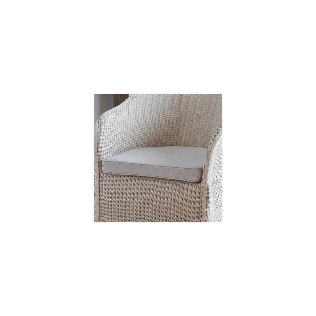 Coussin seul ou en option pour le fauteuil sidonie - Coussin pour fauteuil en rotin ou osier ...