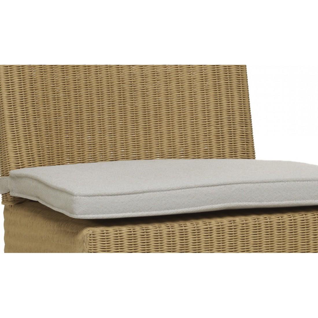 coussin seul pour tabouret de bar c sar en lloyd loom. Black Bedroom Furniture Sets. Home Design Ideas
