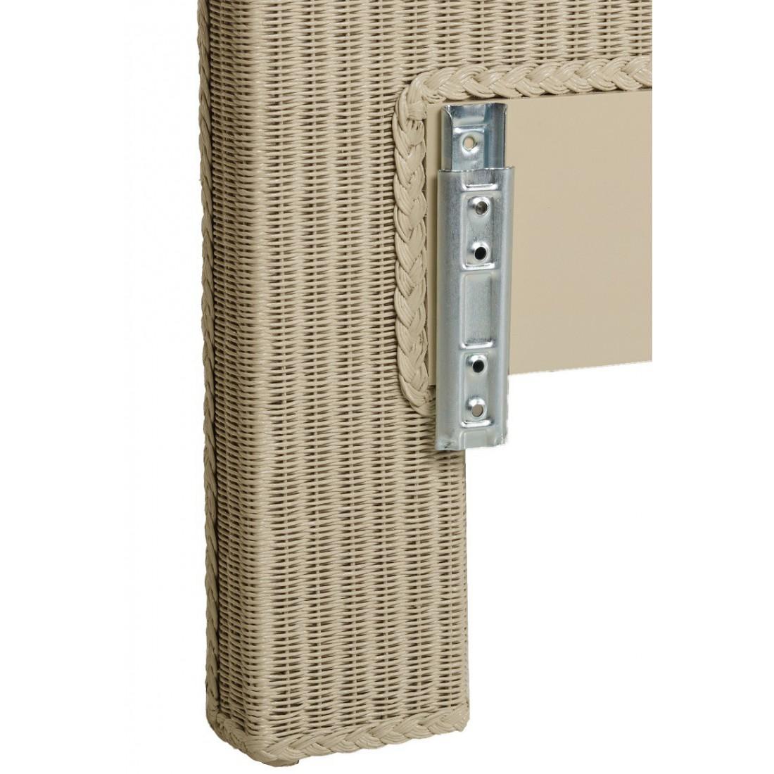 fixer une tete de lit sans percer affordable toi avec morceaux duagglo en par ex cm larg x h tu. Black Bedroom Furniture Sets. Home Design Ideas