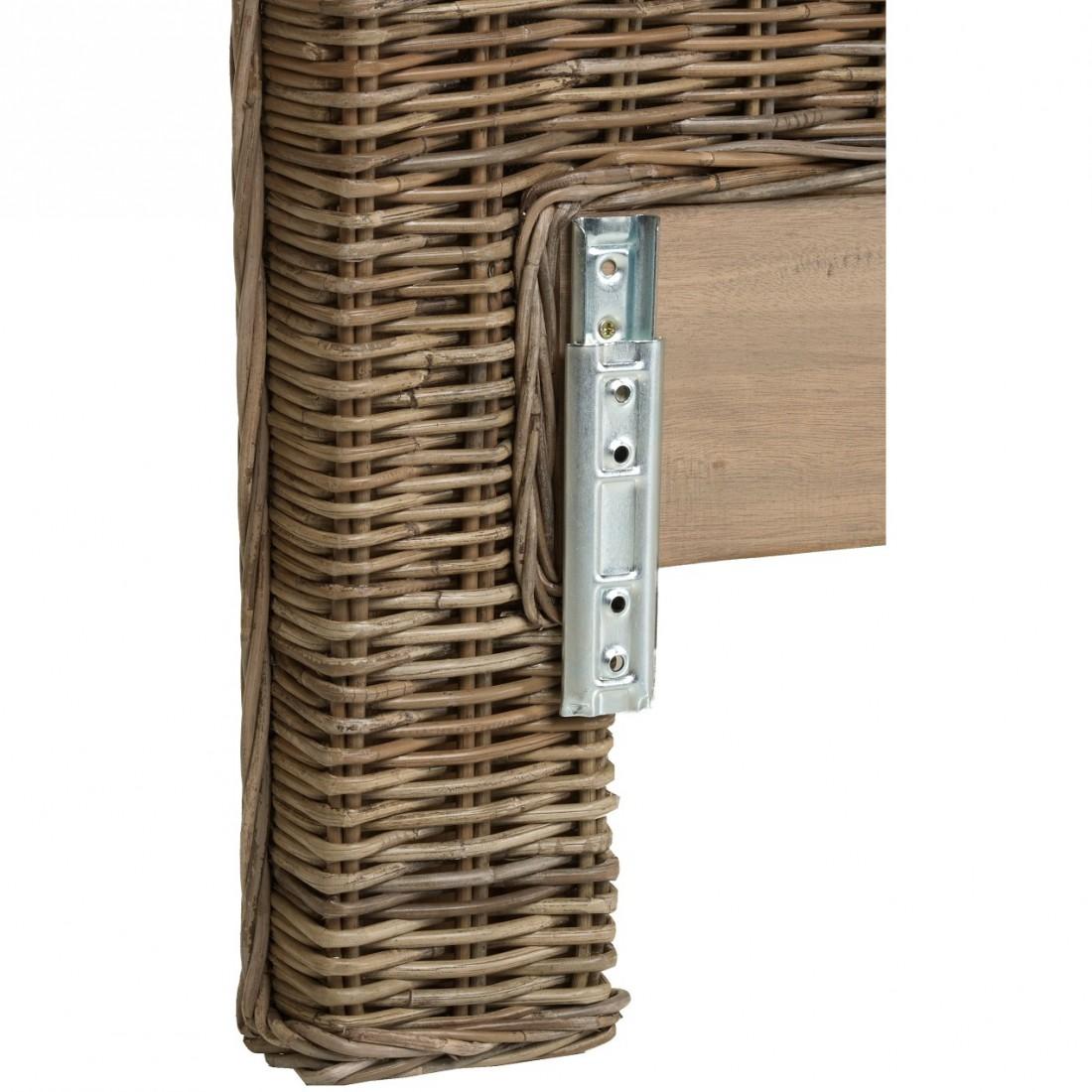 Kooboo Wicker Chair: Bed Fitting For KOK Headboard