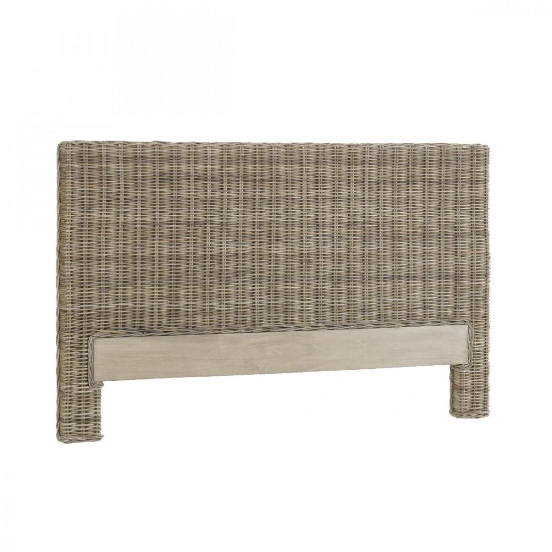 Kooboo Wicker Chair: Arcachon Headboard In Grey Kooboo Rattan
