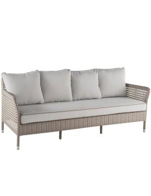 Antibes 3-seater garden sofa
