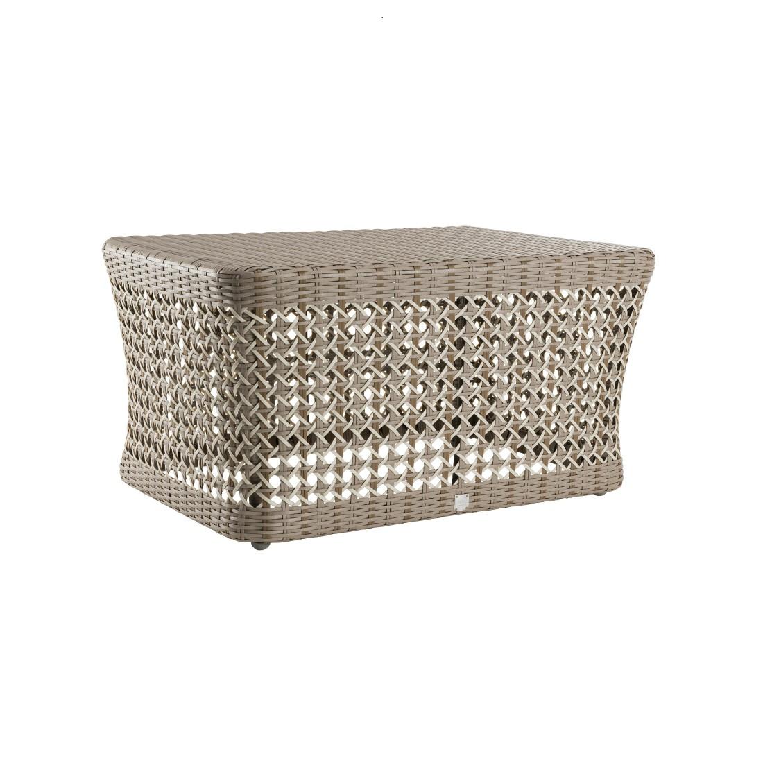 Table basse rectangulaire en r sine antibes salon de jardin - Table basse en resine ...