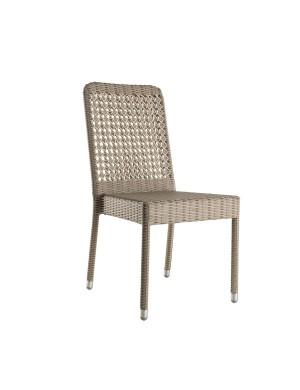 Chaise en résine Antibes sans coussin