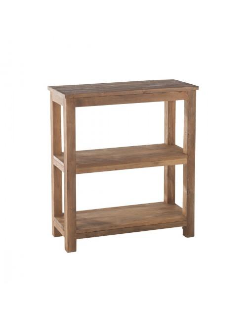 etag re 3 niveaux en teck bross recycl drift. Black Bedroom Furniture Sets. Home Design Ideas