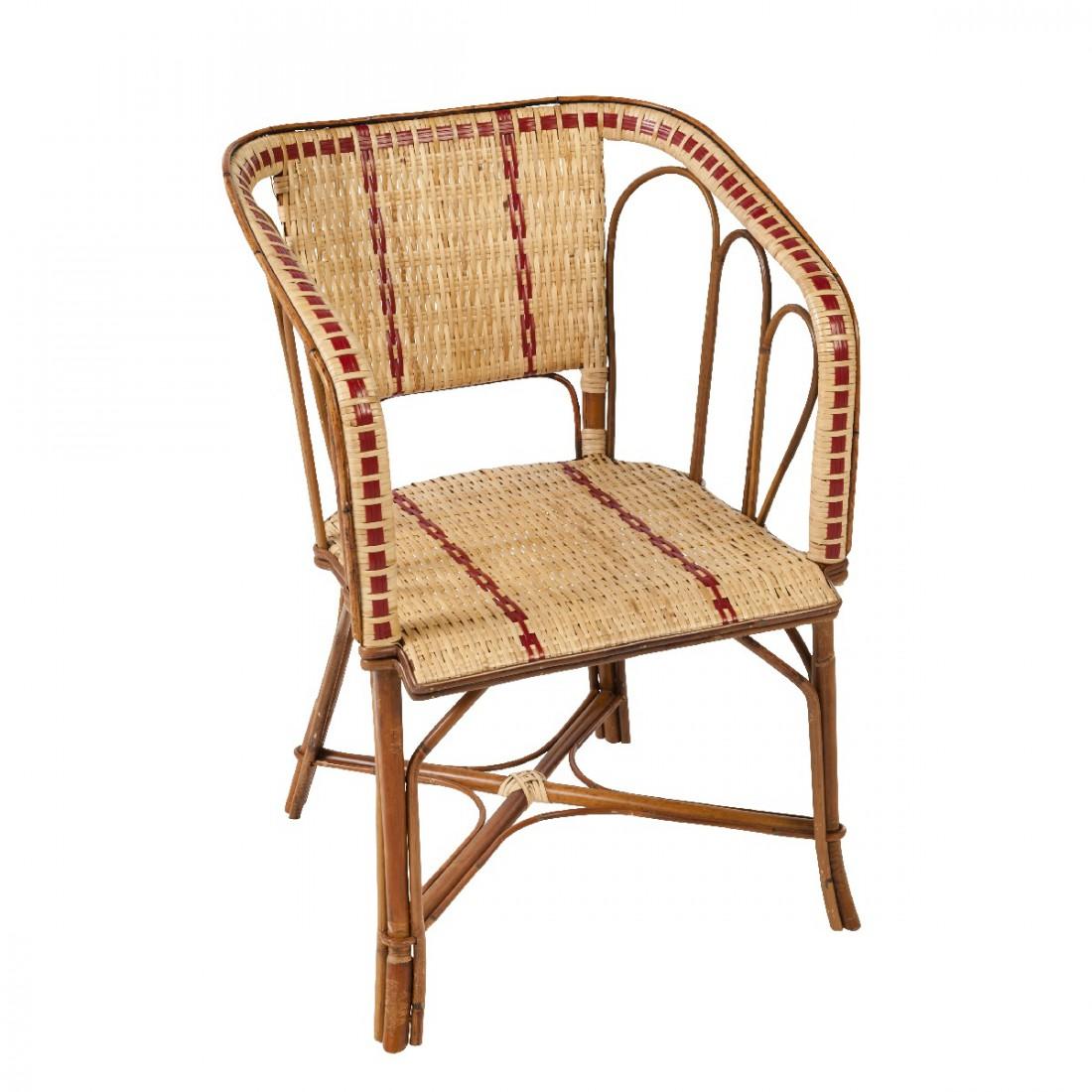 fauteuil d 39 appoint en rotin bagatelle fauteuil rotin kok maison. Black Bedroom Furniture Sets. Home Design Ideas