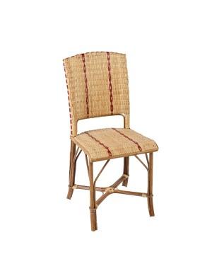 Chaise en rotin tressé Bagatelle