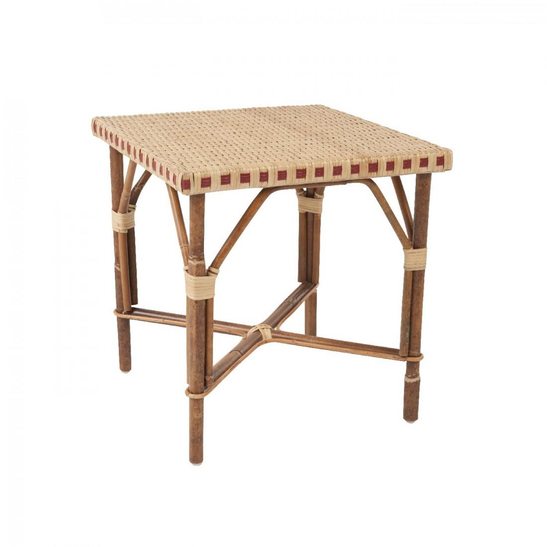 table basse en rotin bagatelle bout de canap en rotin. Black Bedroom Furniture Sets. Home Design Ideas