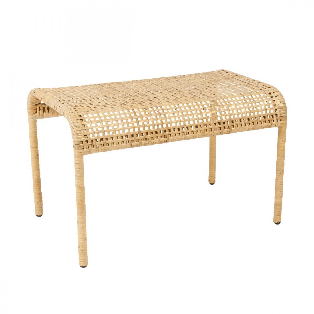 Kooboo Wicker Chair: Trinidad Rattan Footstool