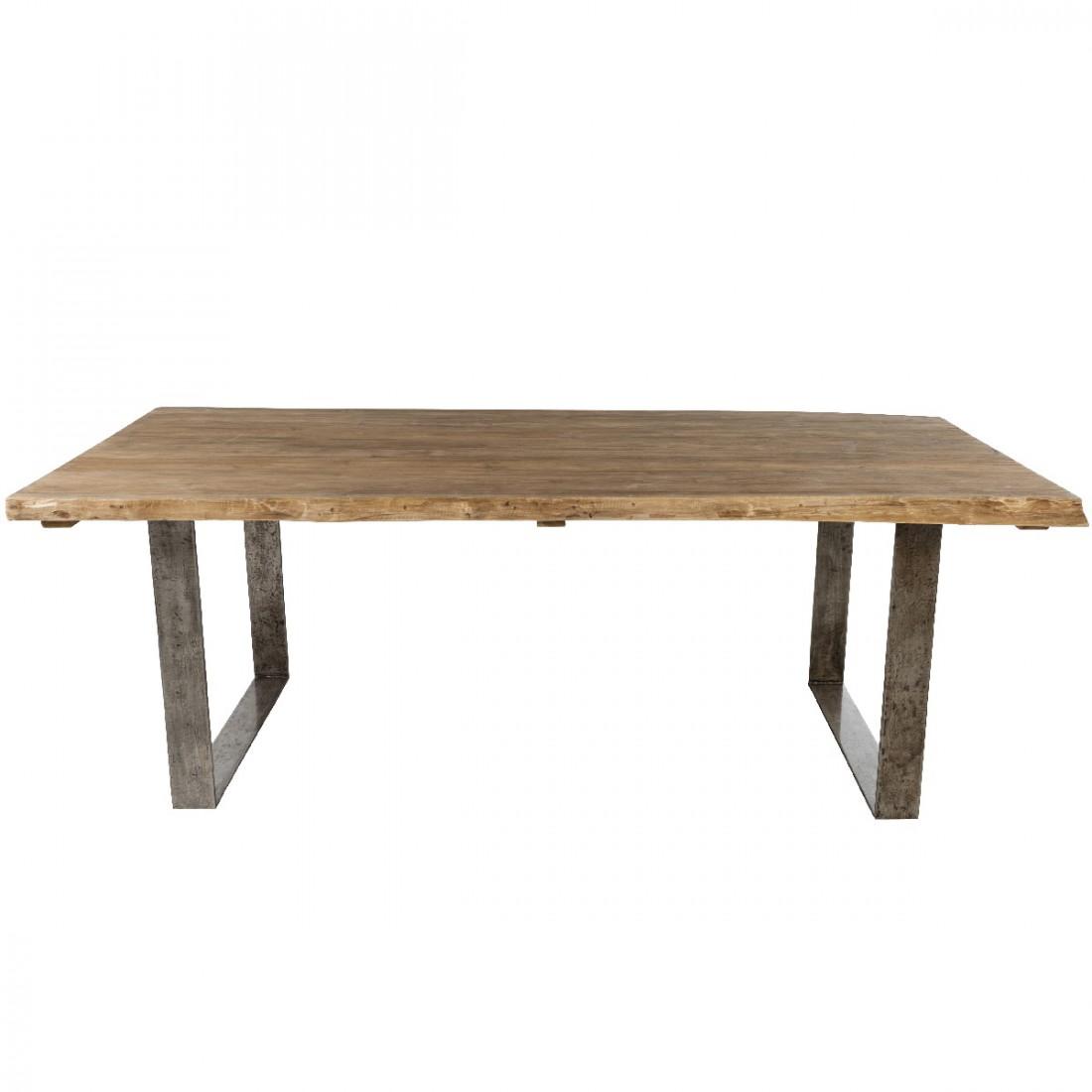 vague 220x100 teak table. Black Bedroom Furniture Sets. Home Design Ideas