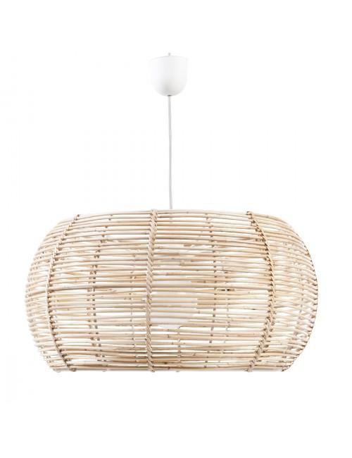 abat jour en rotin naturel suspension rotin kok. Black Bedroom Furniture Sets. Home Design Ideas