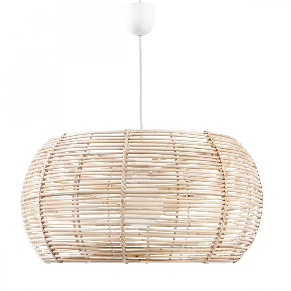 abat jour en rotin naturel suspension rotin kok uk. Black Bedroom Furniture Sets. Home Design Ideas