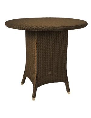 Alexia Lloyd Loom Pedestal Table in Cuivre