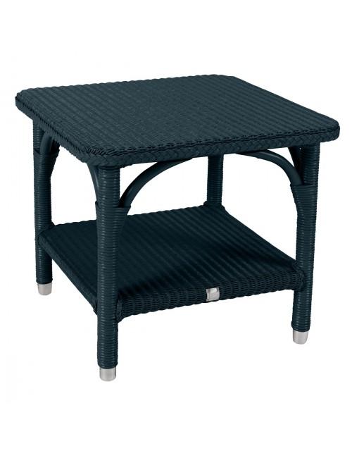 table basse lloyd loom brighton laqu bleu paon. Black Bedroom Furniture Sets. Home Design Ideas