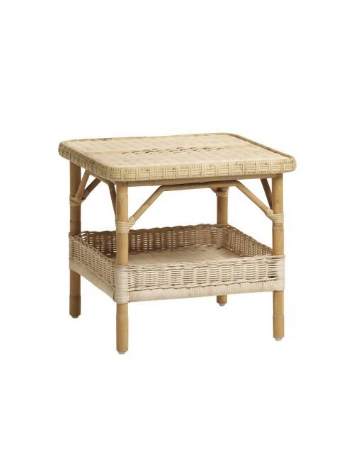 table basse en rotin naturel pm table basse kok maison. Black Bedroom Furniture Sets. Home Design Ideas