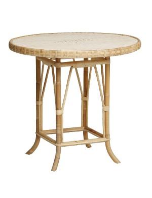 table rotin naturel Eugénie de chez KOK MAISON