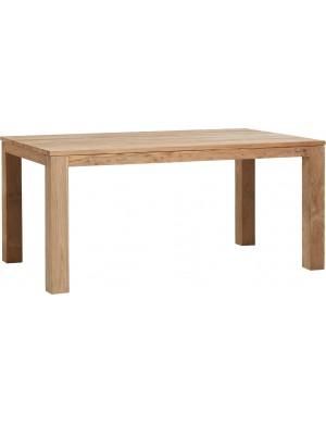 table Drift teck recyclé brossé naturel 170x100cm
