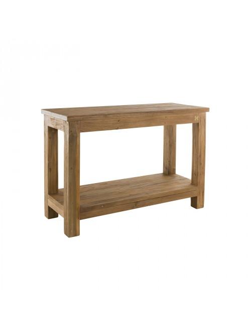 Miraculous 2 Level Recycled Teak Shelves Inzonedesignstudio Interior Chair Design Inzonedesignstudiocom