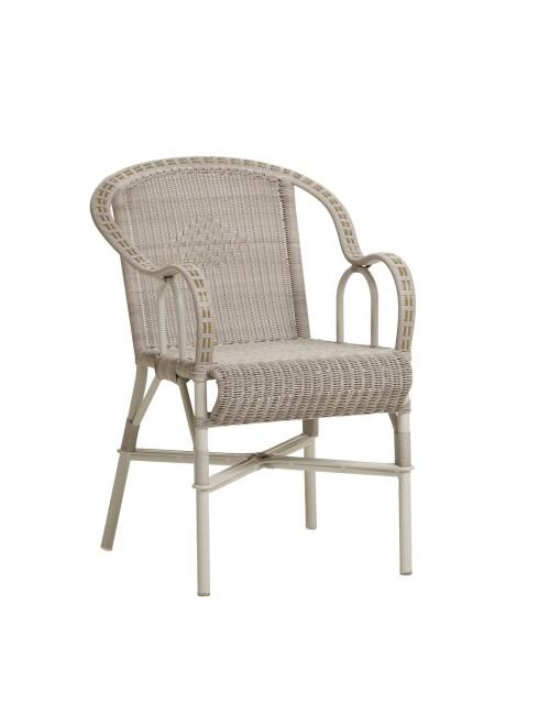 fauteuil de jardin en résine dune Marcel