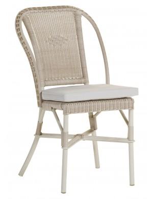 Chaise Albertine dune avec coussin