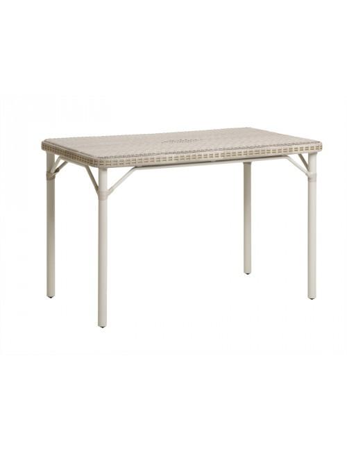 table de jardin en résine dune Eugénie
