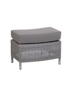 Transat Galet coloured resin footstool
