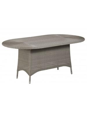 Tables et tables basses en rotin et teck pour extérieur - KOK MAISON