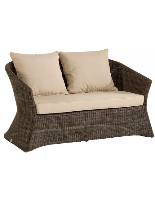 canap 2 places de jardin r sine poivre z nith. Black Bedroom Furniture Sets. Home Design Ideas