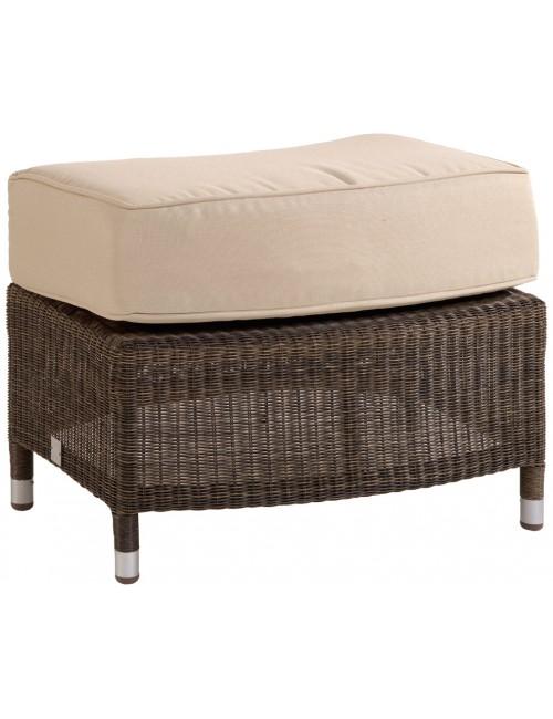 pouf de jardin en r sine couleur poivre transat salon de. Black Bedroom Furniture Sets. Home Design Ideas