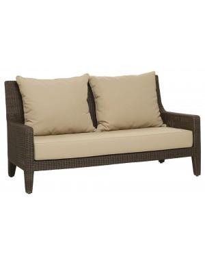 Canapé de jardin résine poivre Allan