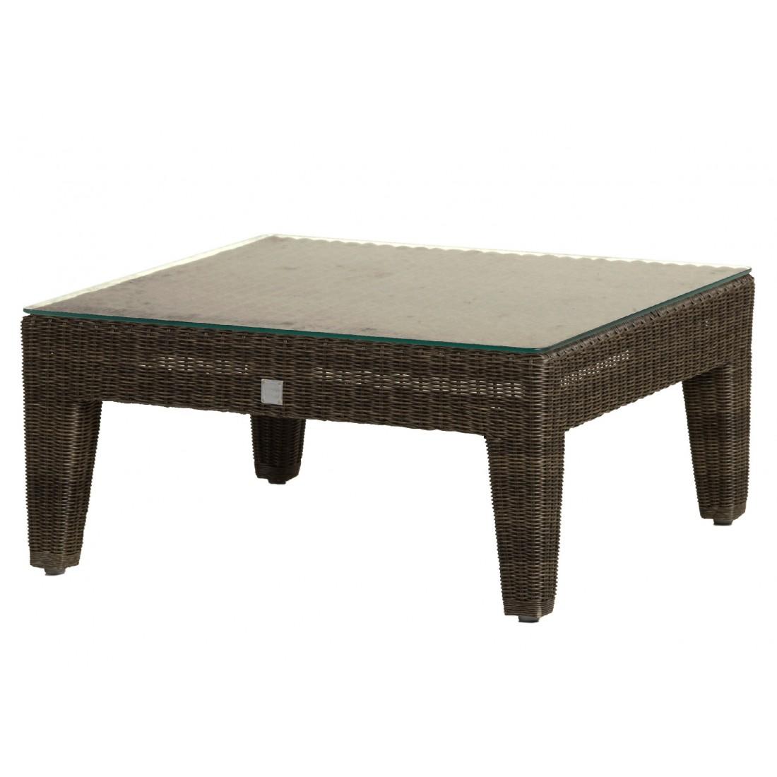 table basse de jardin carr e en r sine poivre allan. Black Bedroom Furniture Sets. Home Design Ideas