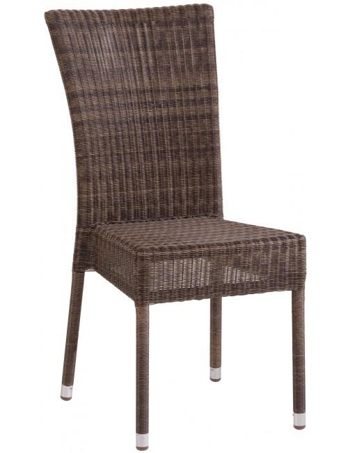 Chaise de jardin Isabelle résine poivre