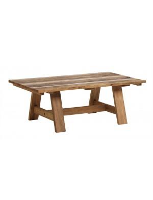 Table teck recyclé Roma 120x70