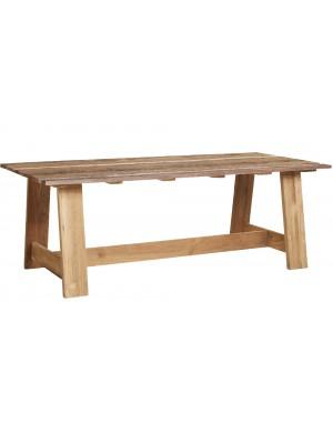 Table teck recyclé Roma 220X100