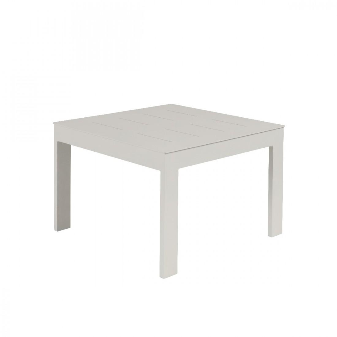 Sienna Smoke White Outdoor Coffee Table