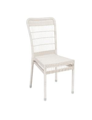 Chaise de jardin en résine Biarritz sans coussin