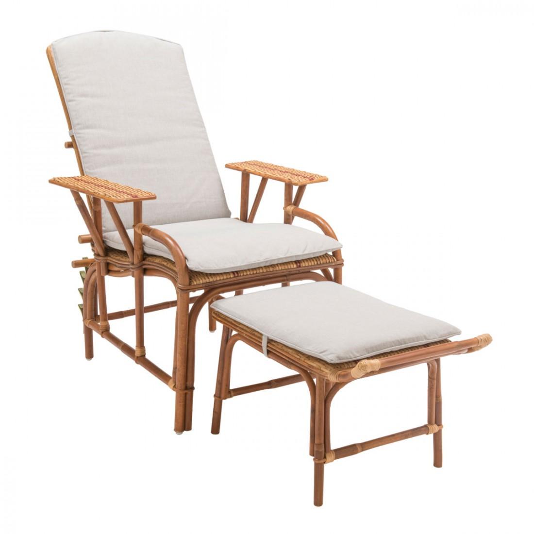 coussin pour chaise longue bagatelle. Black Bedroom Furniture Sets. Home Design Ideas