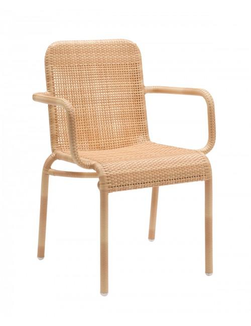 Tobago yellow armchair