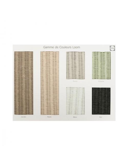 LLOYD LOOM sample - neutral colors
