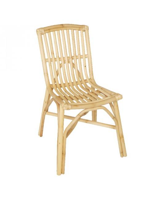 chaise en rotin David de chez Kok Maison