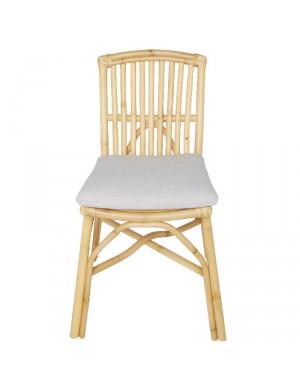Coussin pour chaise en rotin David