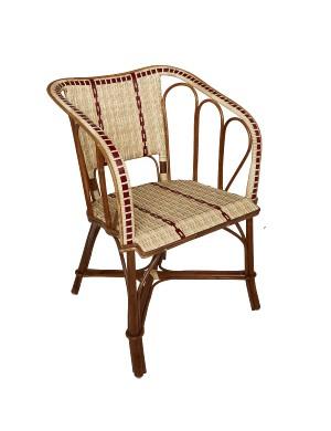 Bagatelle rattan + resin armchair