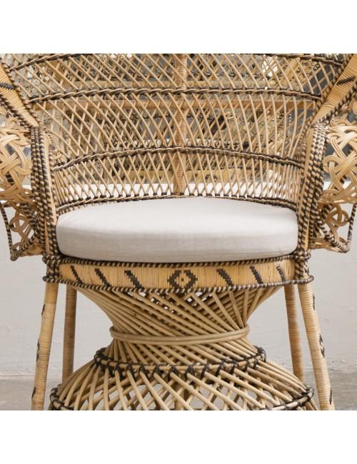 Cushion for Emmanuelle rattan armchair