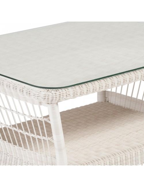 Plateau verre 76x56 table rectangulaire Antibes et Biarritz