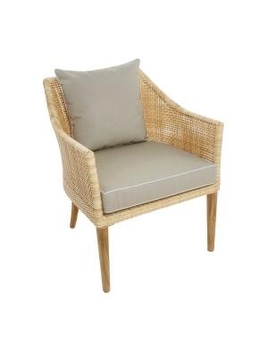 Sao Polo outdoor armchair with cushion