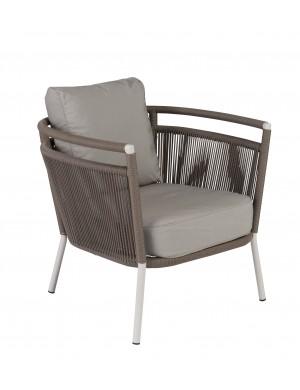 Vegas plaited cord armchair