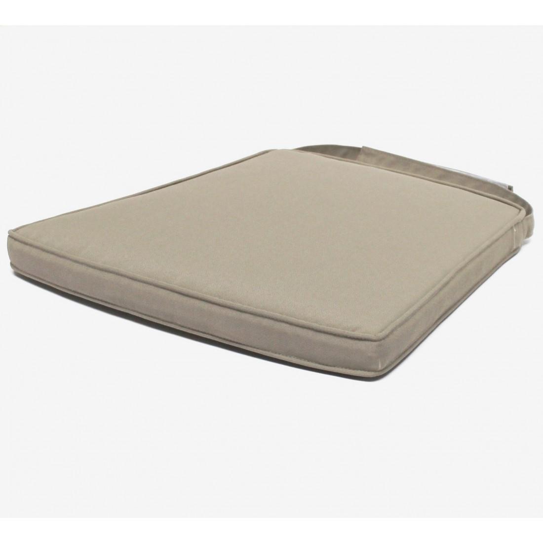 coussin gris en option pour chaise de jardin isabelle. Black Bedroom Furniture Sets. Home Design Ideas