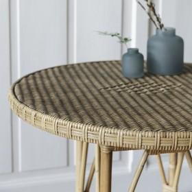 Mobilier en teck recyclé, brossé pour extérieur et salon de jardin ...